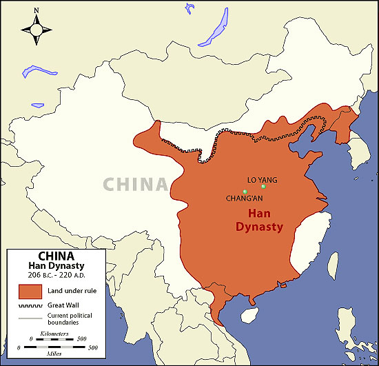 the han dynasty The han dynasty came to power in 202 bc they followed the philosophies of confucianism and legalism this was called 'the han synthesis' under this dynasty, china.